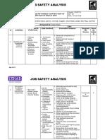 Job Safety Analysis - Cement Silo
