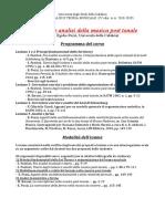 Programma e modalita di esame (1)
