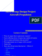Propulsion Options for Group Design Aircraft