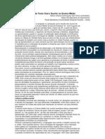 Leitura e Produção de Texto Oral e Escrito no Ensino Médio