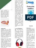 EL USO OBLIGATORIO DE PROTECCION AUDITIVA