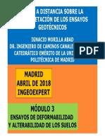 3.-INGEOEXPERT.-Ensayos de Deformabilidad y Alterabilidad- ABRIL-2018