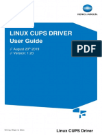 BEU Linux CUPS Driver Guide