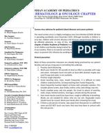 COVID Advisory for PHO patients
