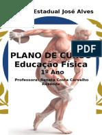Plano de curso - Ed Fis 1º ano Ensino Médio