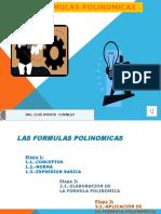 FORMULAS POLINOMICAS LAC