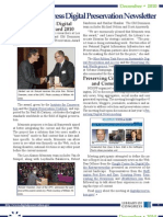 The December 2010 Library of Congress Digital Preservation Newsletter