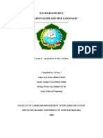 Multilingualism & Sign Language (Group7)
