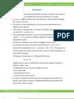 Math Worksheet-Functions