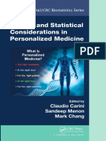 (Chapman & Hall_CRC Biostatistics Series) Claudio Carini, Sandeep M Menon, Mark Chang - Clinical and Statistical Considerations in Personalized Medicine-Chapman and Hall_CRC (2014)