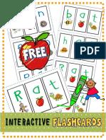 Flashcards CVC Mystery Words