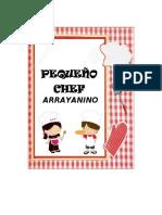 PROYECTO ACTIVIDAD PEQUEÑO CHEF ARRAYANINO_1 BÁSICO