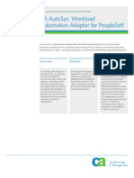 Autosys for People Soft Product Brief