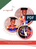 TRAPCA Prospectus 2019