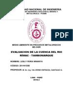 Informe Nº2 Monitoreo de Aguas - Cuenca Rimac.pdf