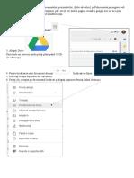 Instrucțiuni referitor la plasarea documentelor în DRi9ve