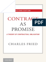 Charles Fried - Contract as promise _ a theory of contractual obligation-Oxford University Press (2015).pdf