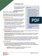 COVID-19 Financial Tips