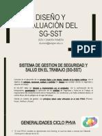 1 DISEÑO Y EVALUACIÓN DEL SG-SST (1) (1)