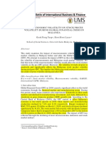 Yeap, g.p. and Lean, h.h., Macroeconomic Volatility on Stock Prices Volatility During Global Financial Crisis in Malaysia.