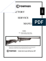 Crosman 160 Factory Service Manual