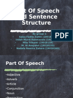 Part Of Speech and Sentence Structure.pptx