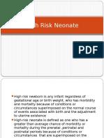 High Risk Neonate.pptx
