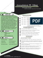 Sample of creative curriculum vitae