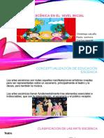 EDUCACIÓN ESCÉNICA EN EL  NIVEL INICIAL.pptx