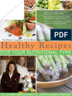 Joseph Mercola, Kendra Degen Pearsall Healthy Recipes For Your Nutritional Type.pdf