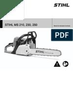 STIHL MS 210_ 230_ 250