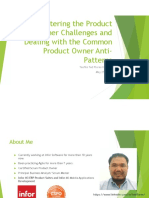Mastering the Product Owner Challenges and Dealing with Product Owner Anti Patterns