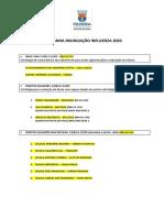 Pontos de vacinação contra a gripe em Olinda