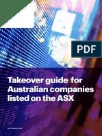 Takeover guide Australia 2018