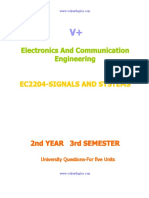 EC2204-SIGNALS AND SYSTEMS