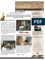 Christmas Newsletter 2010