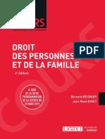 L1 - Droit de La Famille