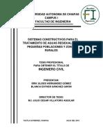 TRATAMIENTO DE AGUAS RESIDUALES Y BIDIOGESTORES