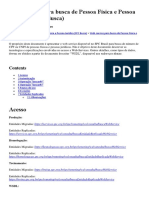 WebService - SPC Busca