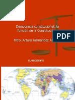 ESTADO Y CONSTITUCION