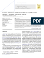 Lee, M.-J., Hong, S.-J., Choi, Y.-M., & Lee, W. (2010). Evaluation of deformation modulus of cemented sand using CPT and DMT. Engineering Geology, 115(1-2), 28–35.