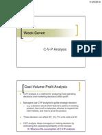 C v P Analysis