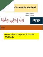 Topic 3 Steps of Scientific Method