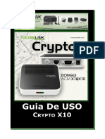 Crypto_X10 - Guia de uso Versao1.2