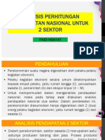 Minggu 4_Analisis Perhitungan Pendapatan Nasional 2 Sektor