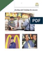 McDonald HRM Report