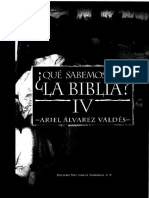 2. ALVAREZ VALDES, A. - Que sabemos de la Biblia IV - Fray Juan de Zumarraga, 1997