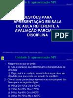 508044-Materiais_II_-_Unidade_I_-_Apresentação_NP1