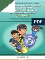 Lineamientos Guarderias IMSS coronavirus