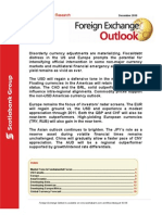 FX Outlook- Perspectivas en tipos de cambio